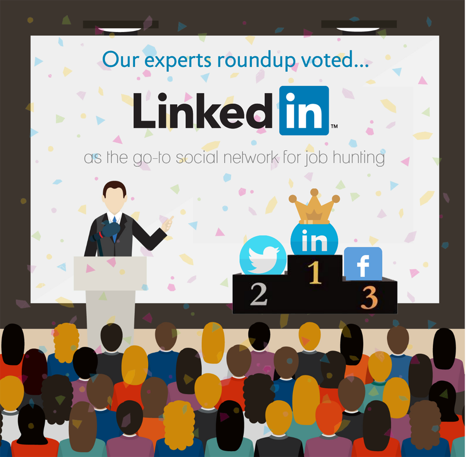 Experts Share Their Top 3 Social Networks for Job Hunters