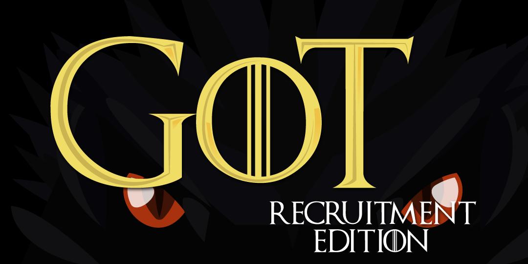 game of thrones recruitment edition